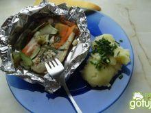 Dorsz w warzywach