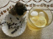 Drink  gruszkowo-lawendowy :