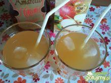 Drink herbaciany z amaretto