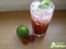 Drink Mohito z malinami
