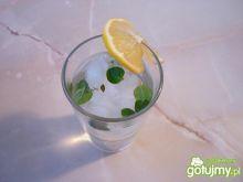Drink z białym rumem i miętą