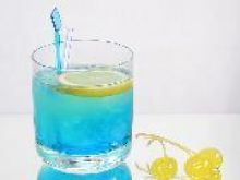 Drink z Blue Curacao