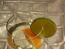 Drink z mrożoną mandarynką
