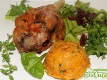 Drób  i puree warzywne z tymiankiem
