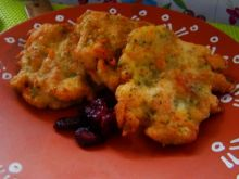 Drobiowe kotleciki z brokułem