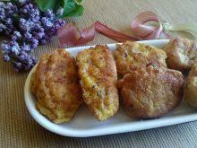 Drobiowe kotleciki z rababrabrem i mozzarellą
