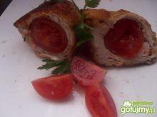 drobiowe roladki z pomidorkami cherry