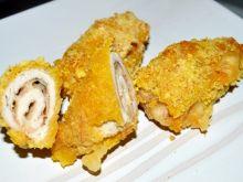 Drobiowe roladki z serem w panierce kukurydzianej