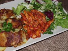Drobiowy gyros w pomidorach