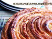 Drożdżowa spirala z marmoladą