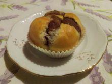 Drożdżowe babeczki z kakao