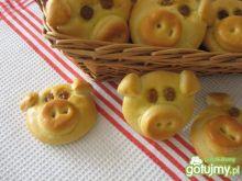 Drożdżowe bułeczki świnki