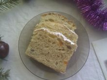 Drożdżowe ciasto a'la pannetone