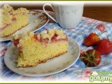 Drożdżowe ciasto bez wyrabiania.