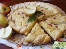 Drozdżowe ciasto z jabłkami