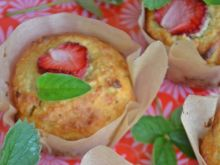 Drożdżowe muffinki prawie bez cukru