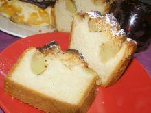 Ciasto drożdżowe z jabłkami z kruszonką