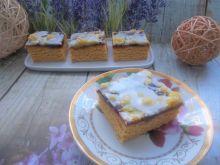 Ciasto drożdżowe dyniowe z marmoladą