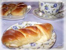 Drożdżówki z białym serem.
