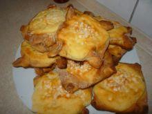 Drożdżówki z serem prostokątne
