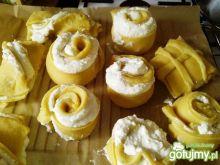 Drożdżówki z serem wg Agabi