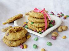 Duńskie ciasteczka owsiane z kamyczkami