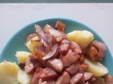 Duszona kiełbasa do ziemniaków