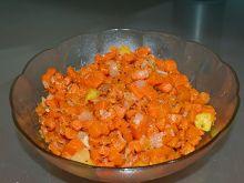 Duszona marchewka z cebulą