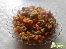 Duszona marchewka z groszkiem 3