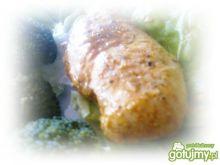 Duszona pierś z kurczaka