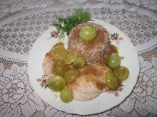Duszone filety z kurczaka