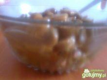 Duszone pieczarki z papryką i czosnkiem