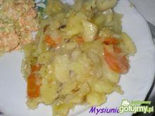 Duszone warzywa do obiadu