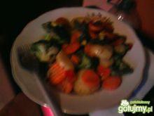 duszony bukiet warzywny dla łasuchów
