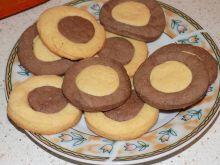 Dwukolorowe ciasteczka