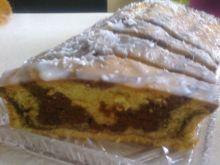 Dwukolorowe ciasto z wiórkami