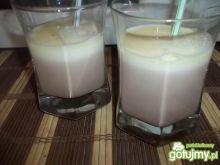 Dwukolorowe mleczko czekoladowe