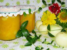Dynia z jabłkiem do słoika
