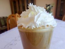 Dyniowa kawa Latte