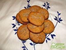 Dyniowe ciasteczka wg Ewy