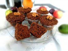 Dyniowe muffiny z kruszonką na mące orkiszowej