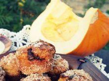 Dyniowe muffiny z nutellą