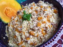 Dyniowe risotto z patelni