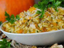 Dyniowe risotto z suszonymi grzybami