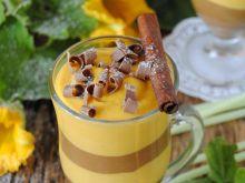 Dyniowo- czekoladowy jogurt