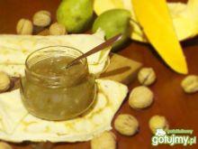 Dyniowo - gruszkowy dżem z orzechami