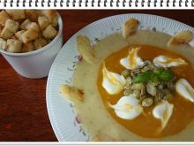 Dyniowo - jabłkowa zupa krem Eli
