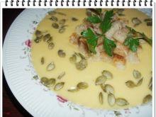 Dyniowo-serowa zupa krem Eli