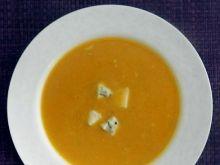 Dyniowy krem z gorgonzolą