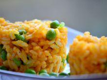 Dyniowy ryż z groszkiem